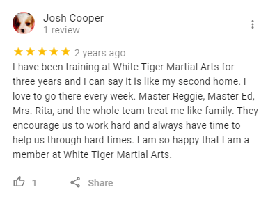 6, White Tiger Martial Arts  Wayne, NJ