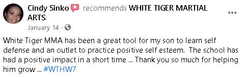 white Tiger MA-testimonial